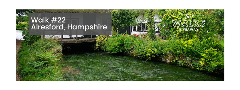 June Walks Giveaway: Alresford & the River Alre, Hampshire