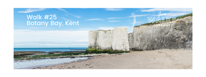 June Walks Giveaway: Botany Bay, Kent