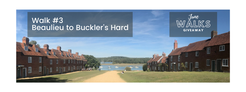 June Walks Giveaway: Beaulieu to Buckler's Hard, Hampshire