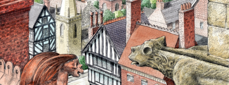 Quiz time! Take the 'Chimneys, Gables & Gargoyles' challenge