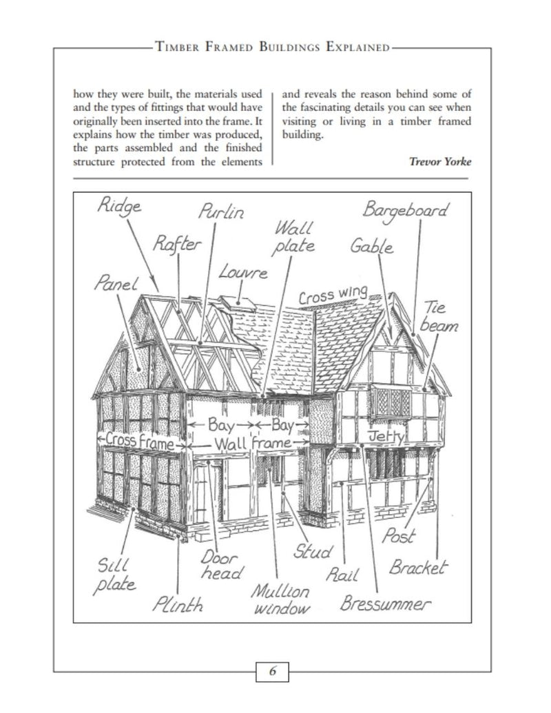 Timber Frames Buildings Explained book interior page