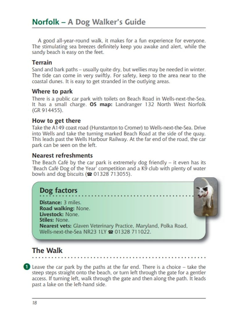 Norfolk A Dog Walker's Guide Wells-next-the-Sea walk and Beach Cafe