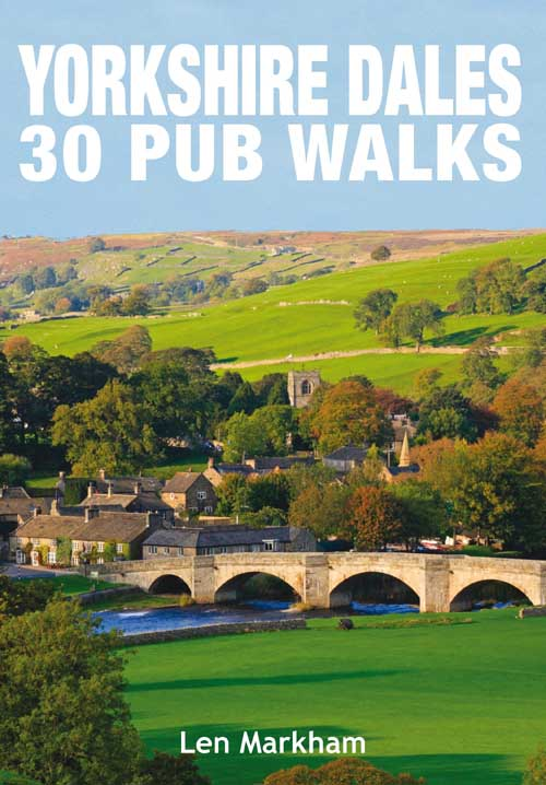 Yorkshire Dales 30 Pub Walks book cover.