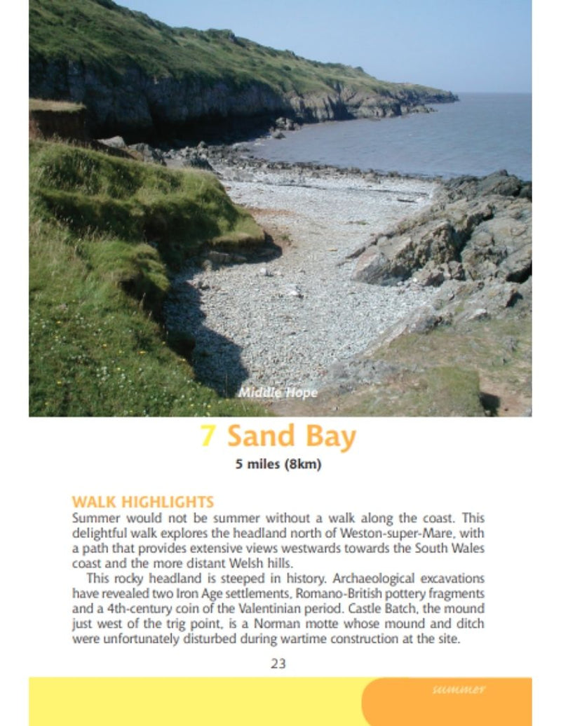 Bristol & Bath Year Round Walks Sand Bay summer walk