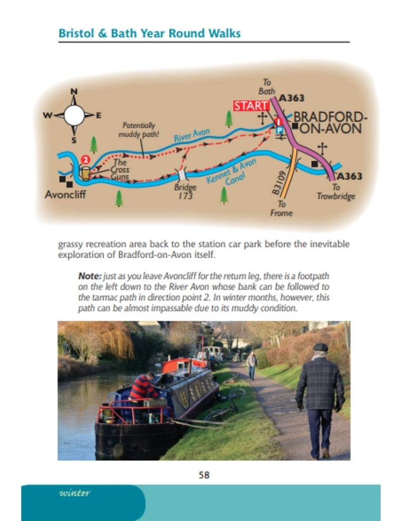 Bristol & Bath Year Round Walks Bradford-on-Avon winter walk