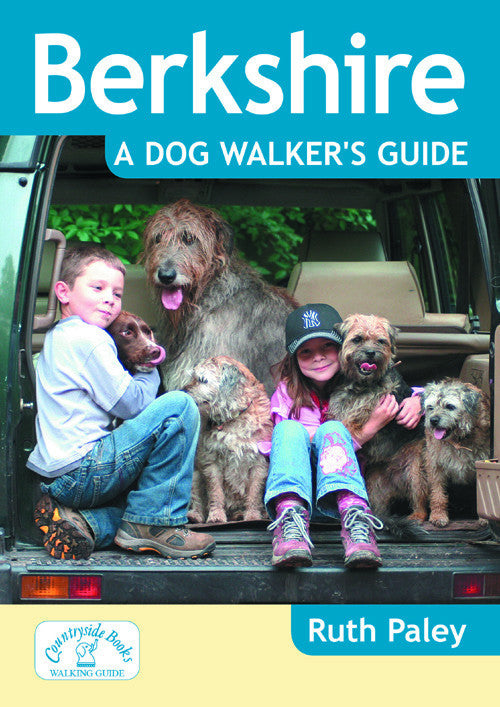 Berkshire A Dog Walker's Guide book cover. Walks designed for dog walks.