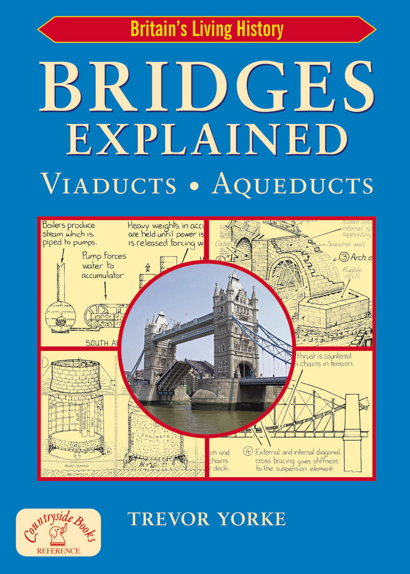 Bridges Explained: The Surprising History of Britain's Finest Bridges, How They Work & the People Who Made Them (Including Viaducts & Aqueducts)