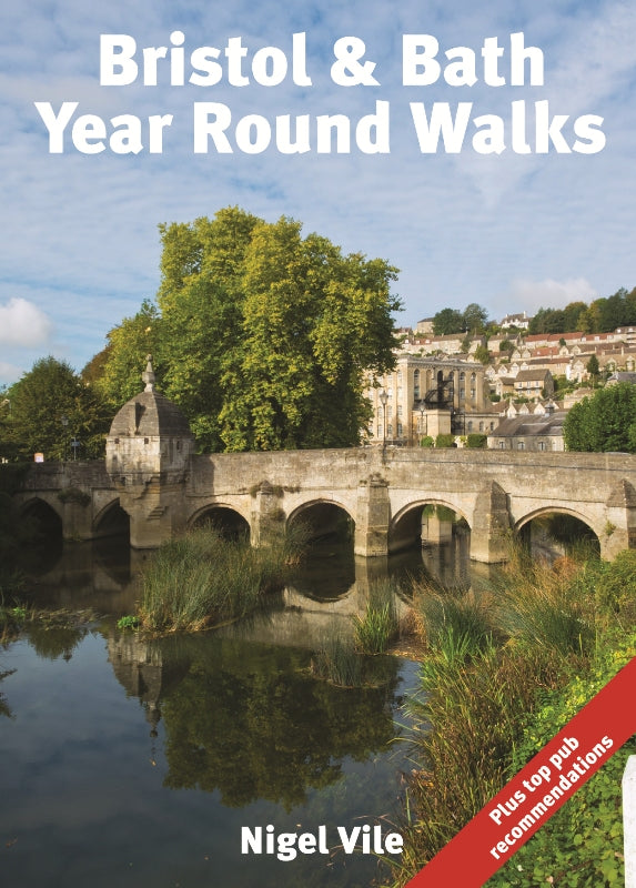 Bristol & Bath Year Round Walks front cover