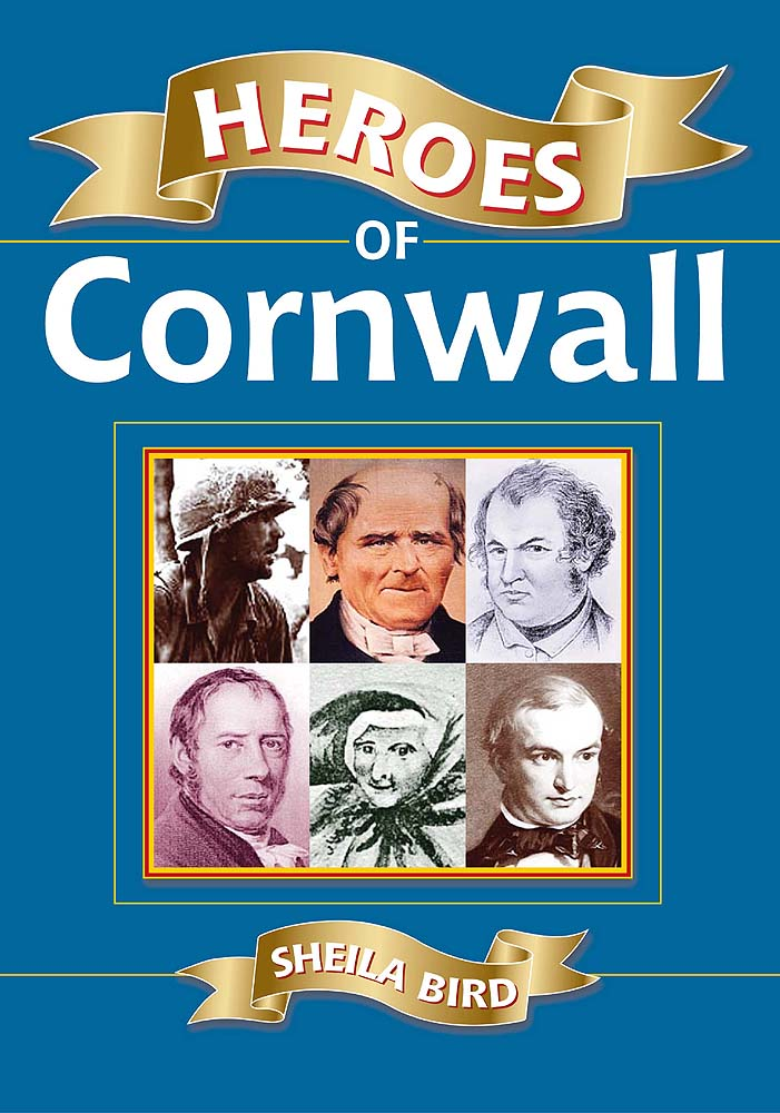 Heroes of Cornwall book cover.
