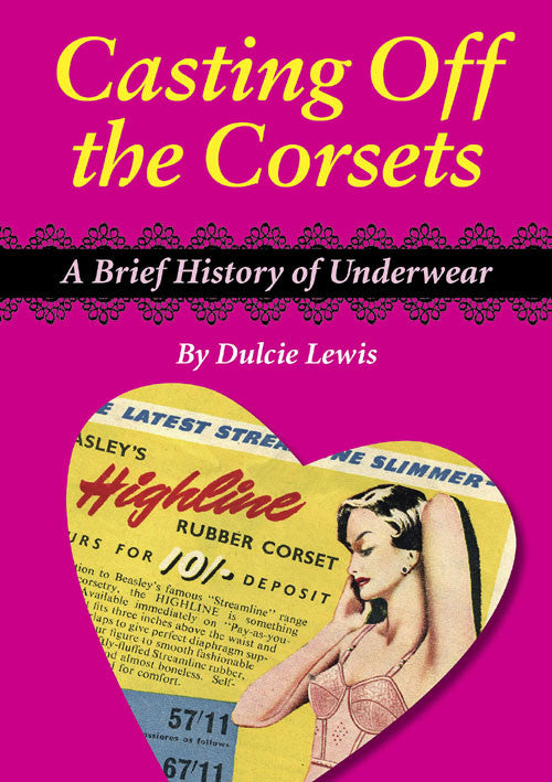 Casting of the Corsets book cover. The history of underwear.