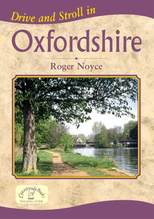 Drive and Stroll in Oxfordshire book cover. Short countryside walks.