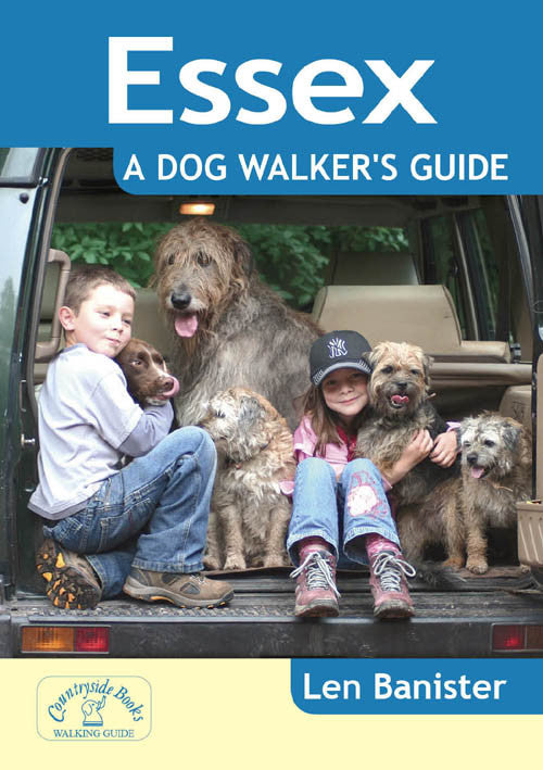 Essex A Dog Walker's Guide book cover. Local Dog Walks.