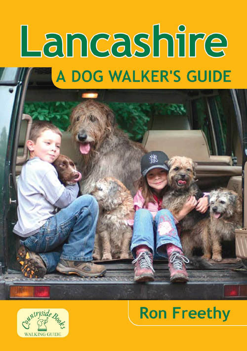 Lancashire A Dog Walker's Guide book cover. Local Dog Walks.
