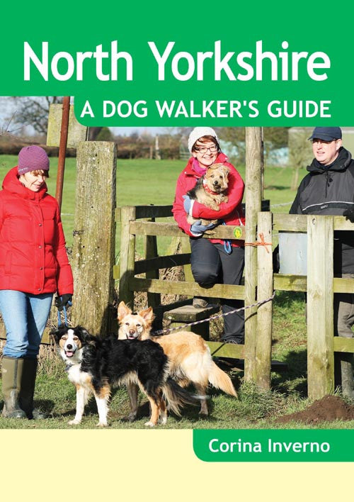 North Yorkshire A Dog Walker's Guide book cover. Local Dog Walks.