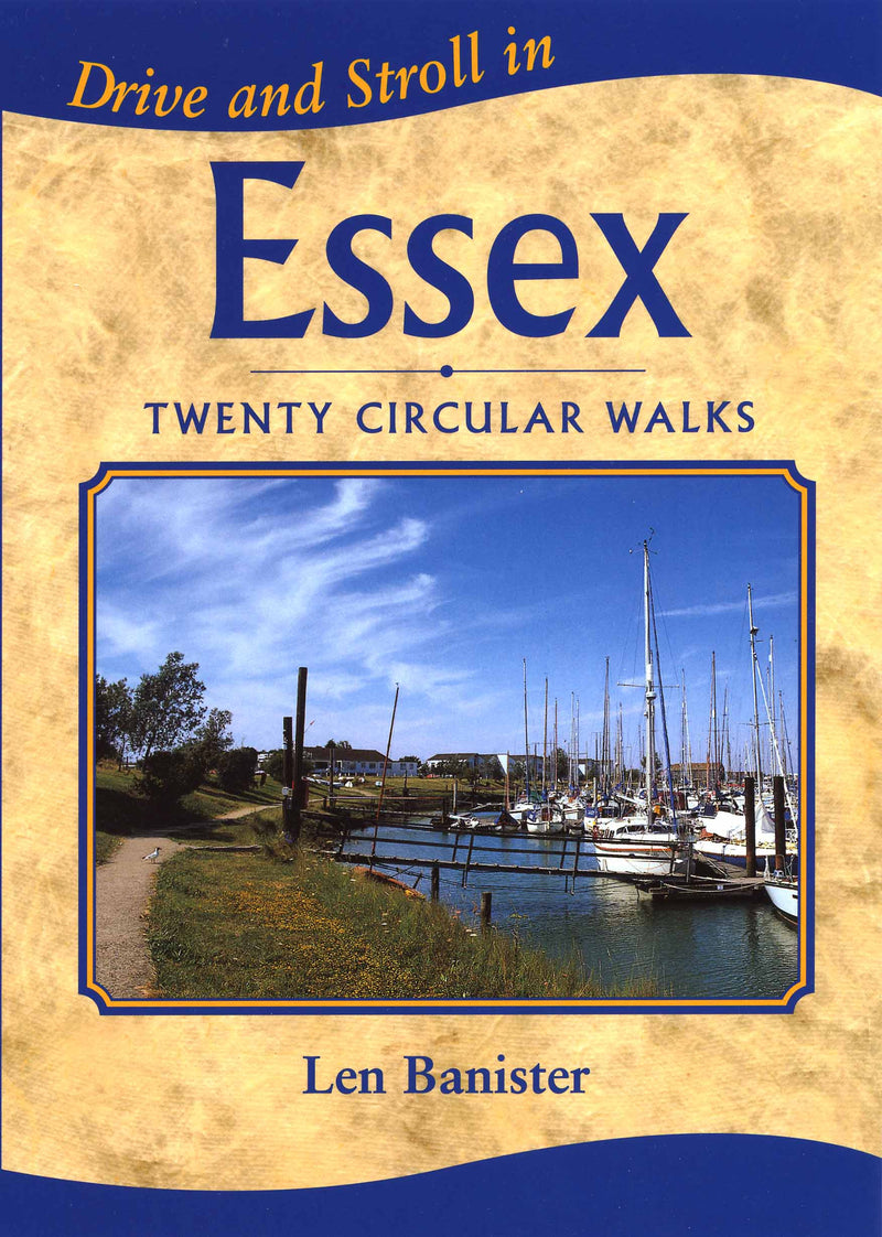 Drive and Stroll in Essex book cover. Short countryside walks.