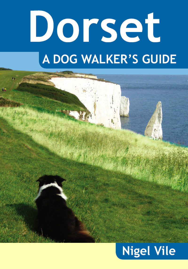 Dorset A Dog Walker's Guide book cover.