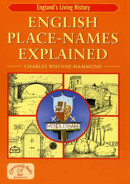 English Place Names Explained book cover