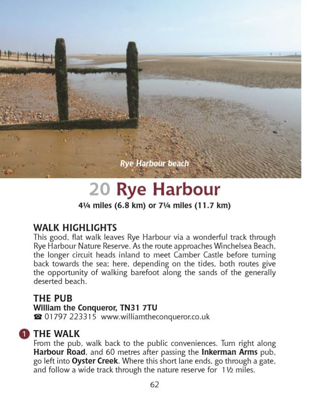 Guide to East Sussex Pub Walks: 20 Circular Walks & Recommended Local Pubs