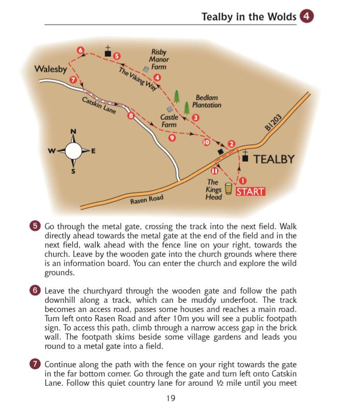 Guide to Lincolnshire Pub Walks: Walking Guide with 15 Circular Walks & Pub Recommendations