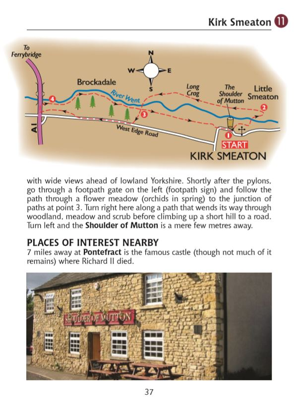 Guide to North Yorkshire Pub Walks: Walking Guide Featuring 20 Circular Walks & Pub Recommendations