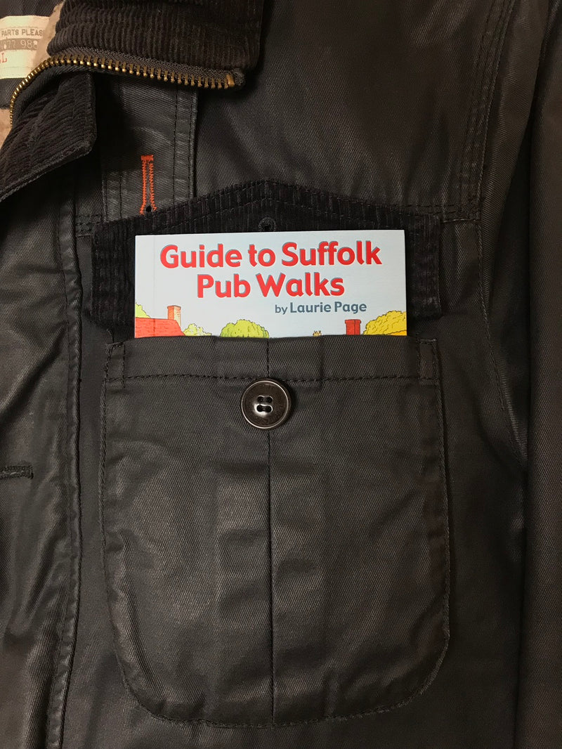 Guide to Suffolk Pub Walks: Pocket-Sized Guidebook with 20 Circular Walks & Recommended Local Pubs