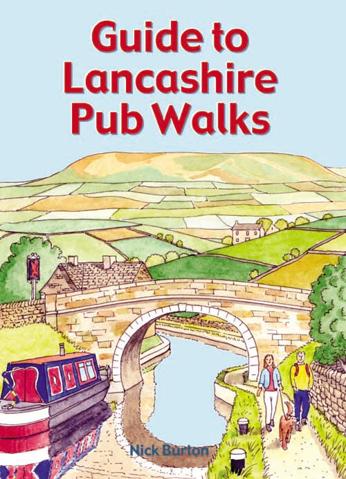 Guide to Lancashire Pub Walks book cover
