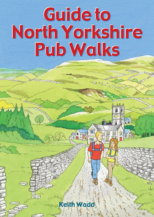 Guide to North Yorkshire Pub Walks book cover