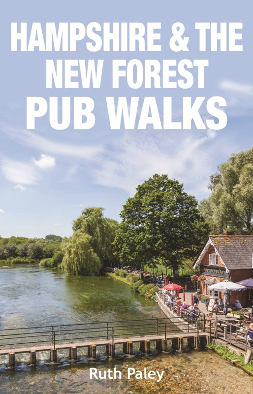 Hampshire & the New Forest Pub Walks book cover