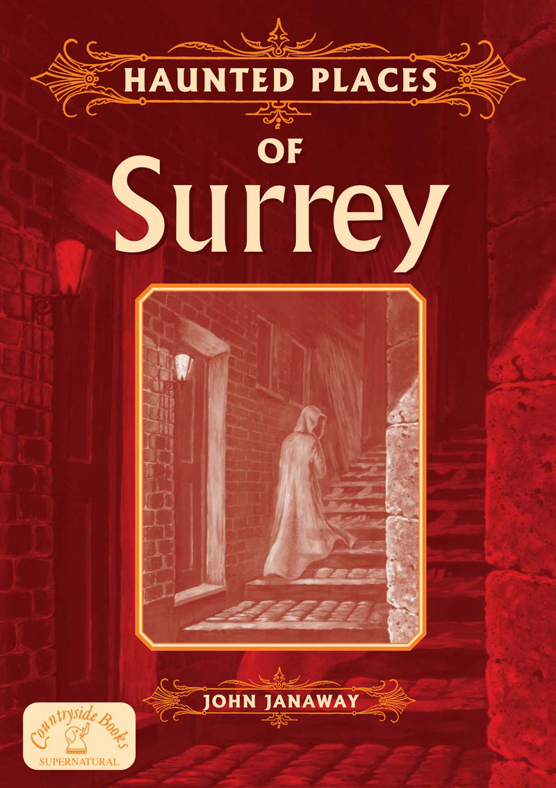 Haunted Places of Surrey book cover.