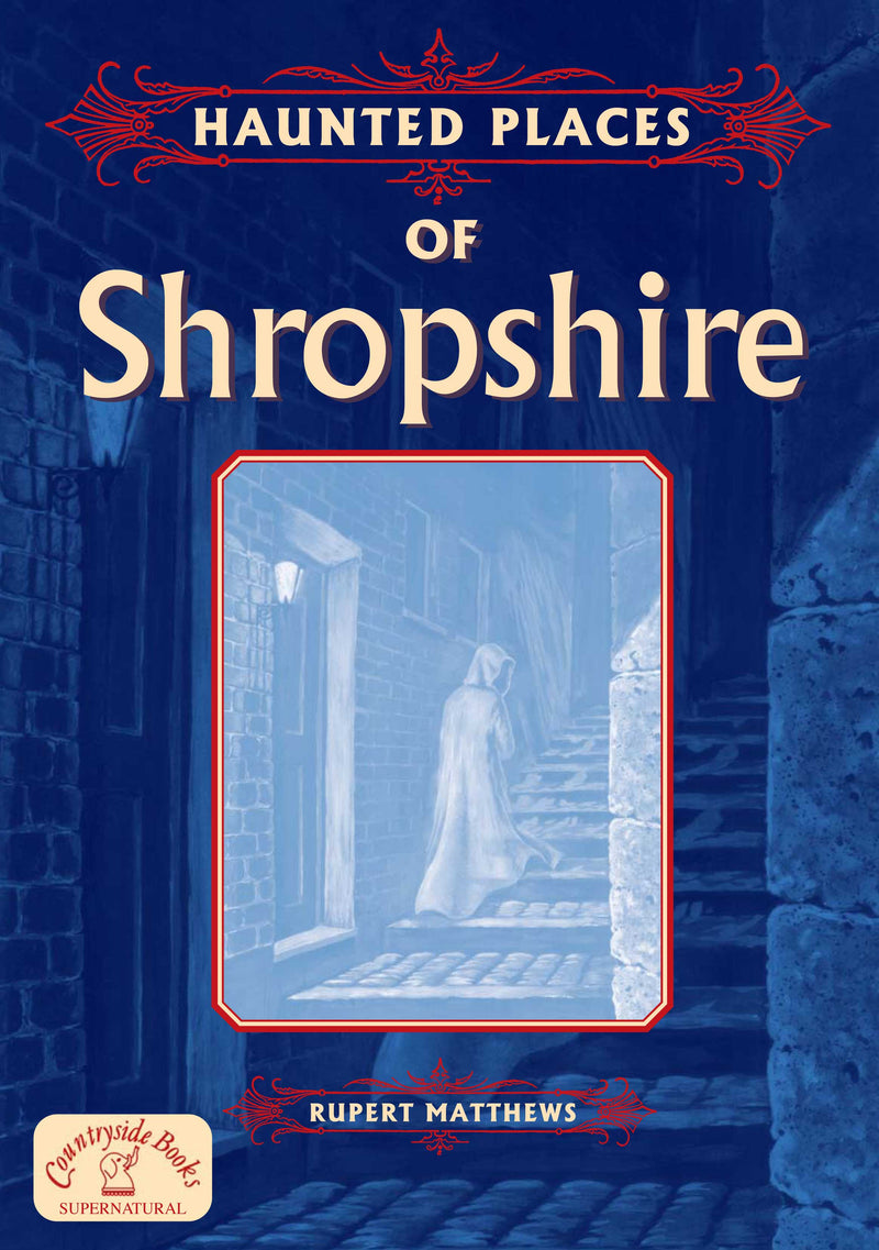 Haunted Places of Shropshire book cover.