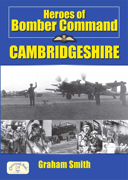 Heroes of Bomber Command Cambridgeshire book cover. WW2