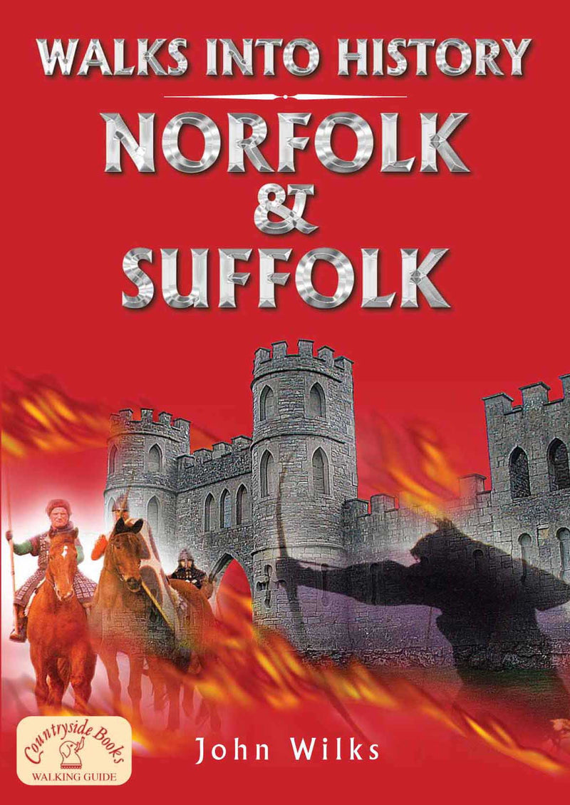Walks into History Norfolk & Suffolk book cover.
