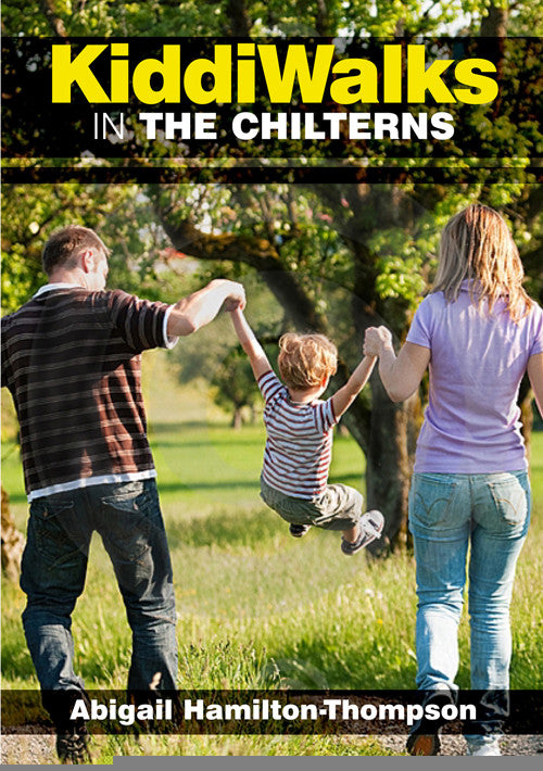Kiddiwalks in the Chilterns book cover. 20 family walks.