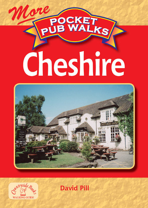 Pocket Pub Walks in Cheshire book cover. Walking guide of best walks in Cheshire.
