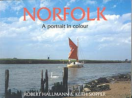 Norfolk A Portrait in Colour book cover. Collection of photographs of Norfolk.