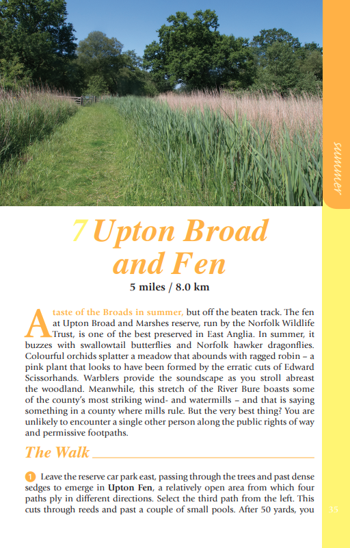 Norfolk Year Round Walks Upton Broad and Fen walk