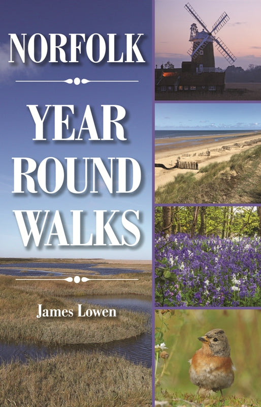 Norfolk Year Round Walks book front cover