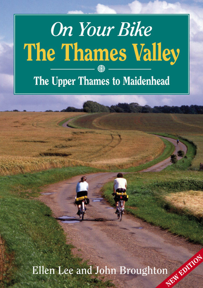 On Your Bike The Thames Valley book cover. Bike ride routes.