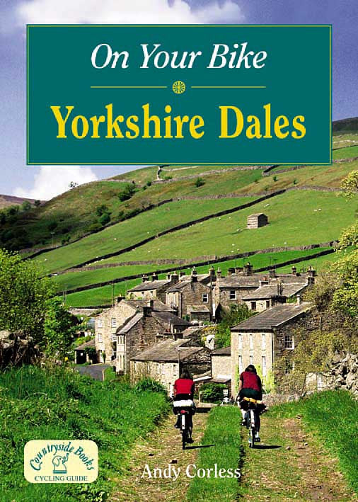 On Your Bike Yorkshire Dales book cover. Bike ride routes.