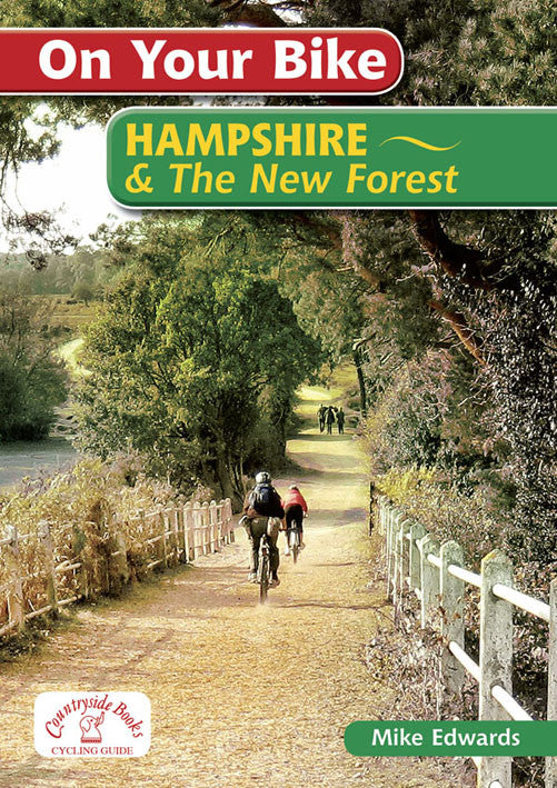 On Your Bike Hampshire & the New Forest book cover. Bike ride routes.