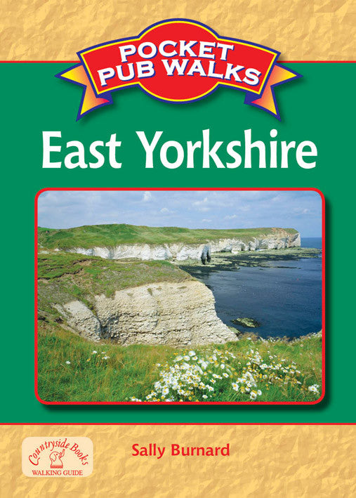Pocket Pub Walks in East Yorkshire book cover. Walking guide to the best walks in the Yorkshire countryside.