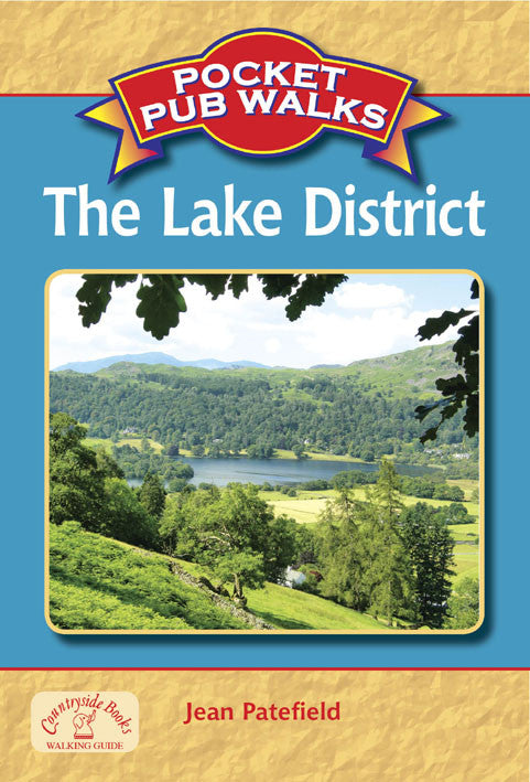 Pocket Pub Walks in the Lake District book cover. Walking guide to best walks in the Lake District countryside.