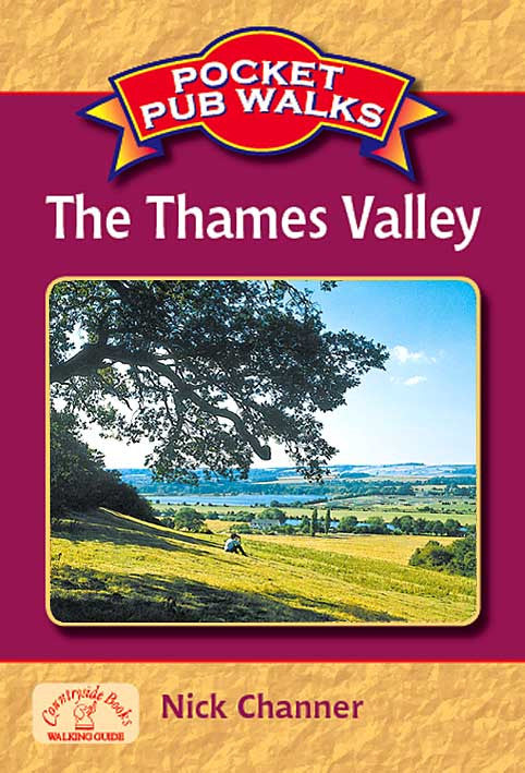 Pocket Pub Walks in the Thames Valley book cover. Walking guide to the best walks in the Thames Valley countryside.