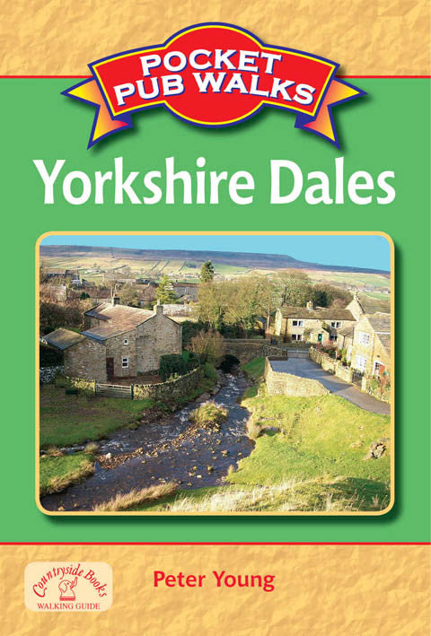 Pocket Pub Walks in the Yorkshire Dales book cover. Walking guide to the best walks in the Yorkshire Dales countryside.