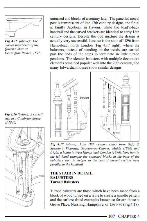 Period House Fixtures & Fittings staircases and balusters