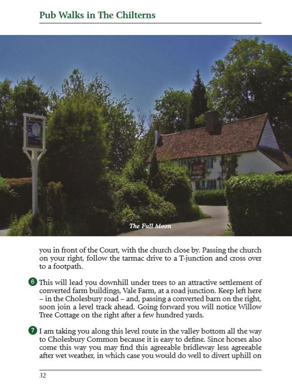 Pub Walks in the Chilterns: Guidebooks with 20 Circular Walks & Recommended Local Pubs