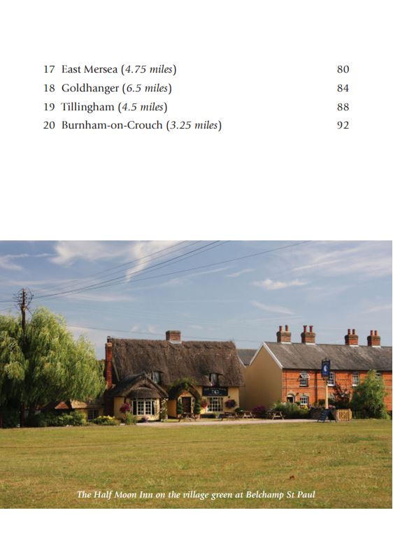 Pub Walks in Essex contents page 2