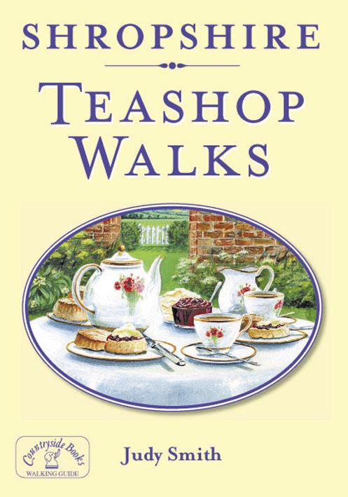 Shropshire Teashop Walks. Walking guide to the Shropshire countryside and best local tea shops.