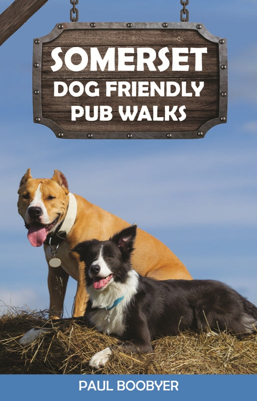 Somerset Dog Friendly Pub Walks book cover.