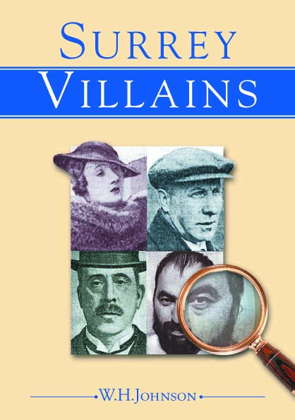 Surrey Villains book cover.